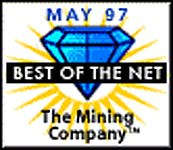 Best of Net award MAY 97