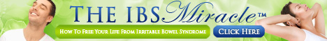 IBS Miracle. Relieve symptoms of Irritable Bowel Syndrome.