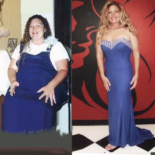 Kim Creasey of Lexington, TN, lost 100 pounds in 10 months with Dr. Miller's Holy Tea, entered a beauty contest and was selected over girls 15 years younger.